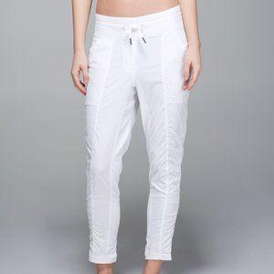 Lululemon Street To Studio Pant II white lined  4